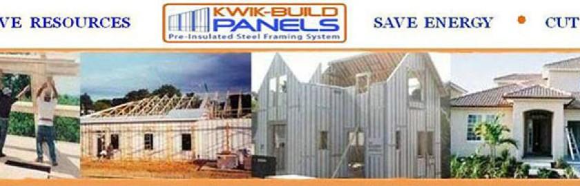 Kwik-Build Panels - Pre-Insulated Steel Framing